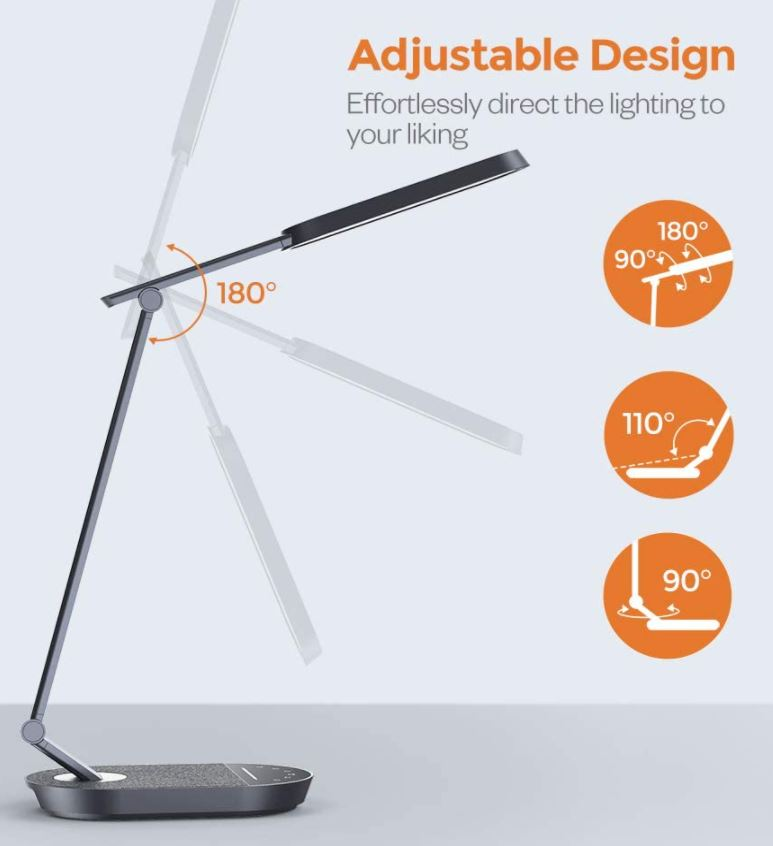 TaoTronics Metal LED Desk Lamp