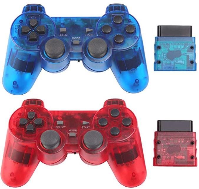 Burcica Wireless PS2 Controller