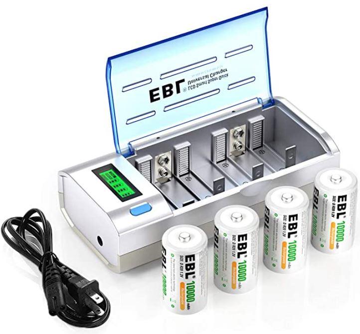 EBL Smart Battery Charger
