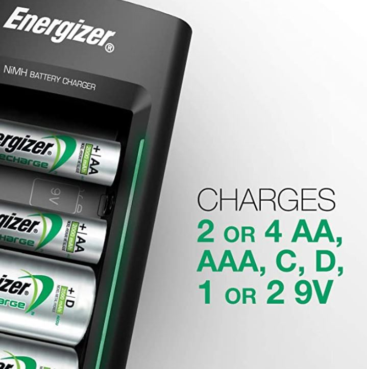 Energizer-Rechargeable-Battery-Charger