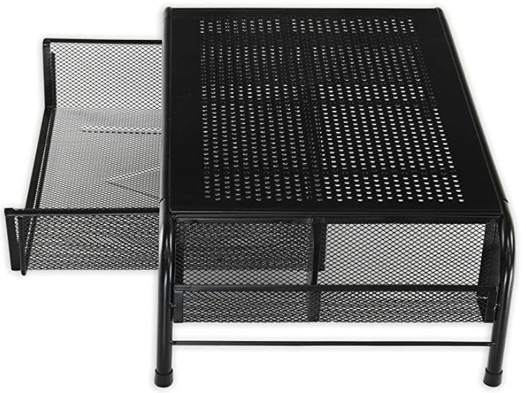SimpleHouseware Metal Desk Monitor Stand