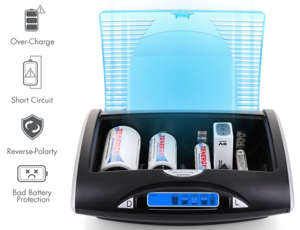 Tenergy-Smart-Battery-Charger