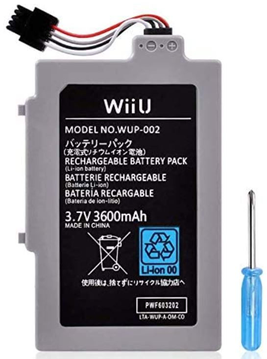 UCEC Rechargeable Wii U Battery Pack