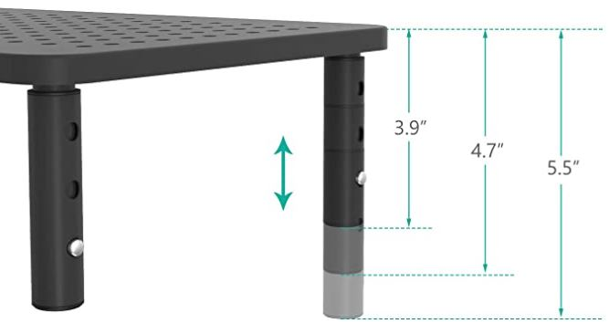 WALI Monitor Stand Riser