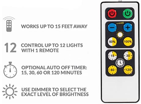 Brilliant Evolution LED Puck Lights