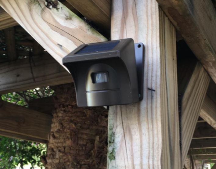 eMACROS Solar Wireless Driveway Alarm
