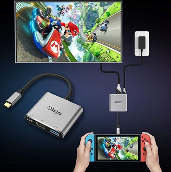 INTPW USB-C to HDMI Adapter