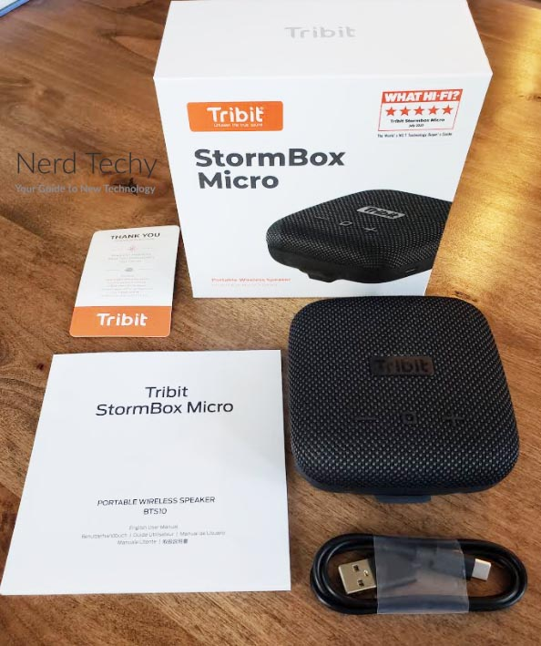Tribit StormBox Micro