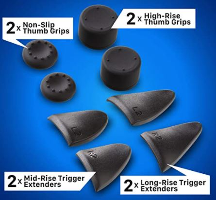 Fosmon High Rise Thumb Grips and Trigger Extenders