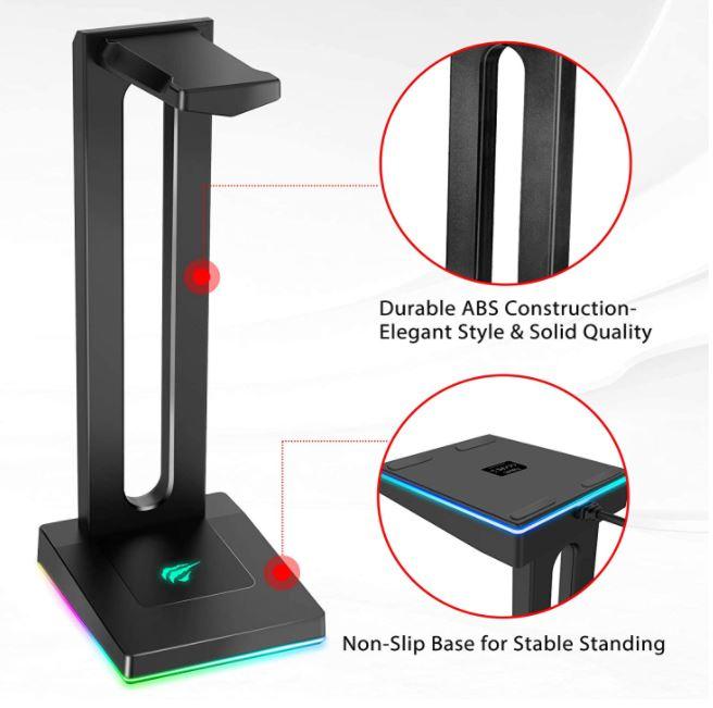 Havit RGB Headset Stand