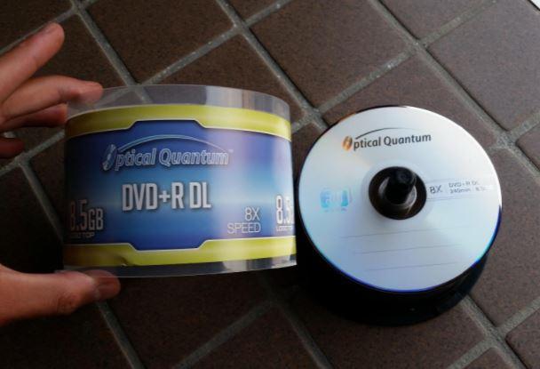 Optical Quantum dvd r dl
