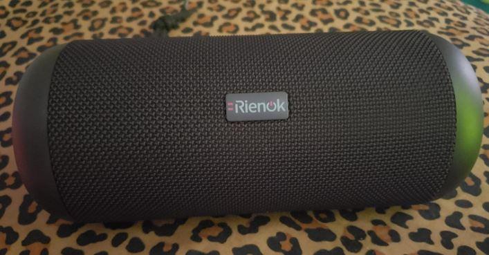 RIENOK Portable Bluetooth Speaker