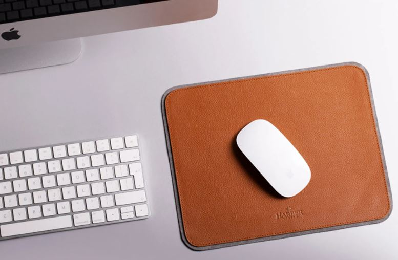 Harber London Leather Mouse Pad