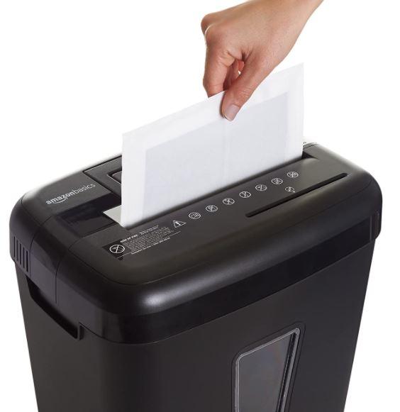 Amazon Basics Paper Shredder Sharpening Lubricant Sheets