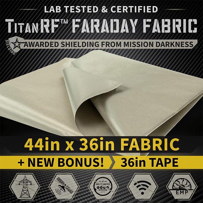 TitanRF Faraday Fabric Kit