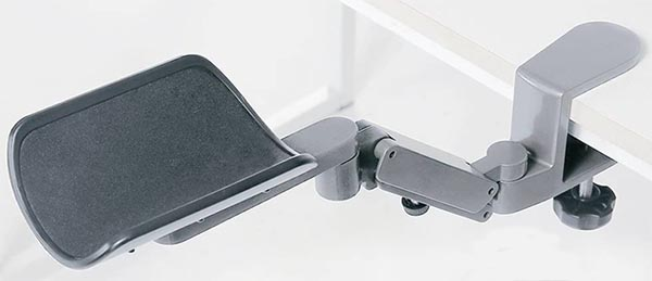 FUZADEL Ergonomic Arm Rest Rotating Mouse Pad