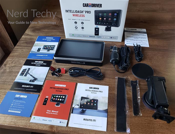 Car and Driver Intellidash Pro Wireless