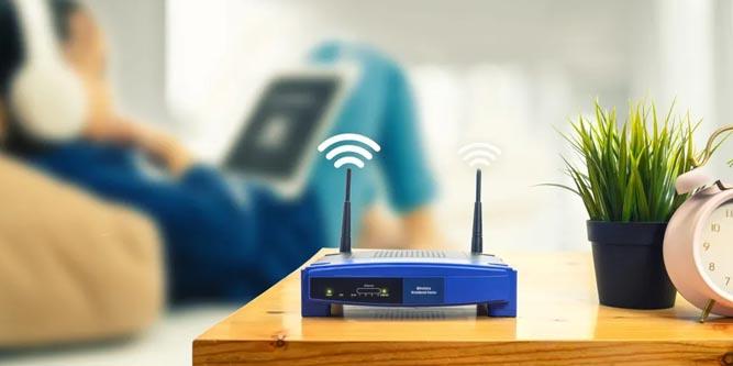 wifi router emf