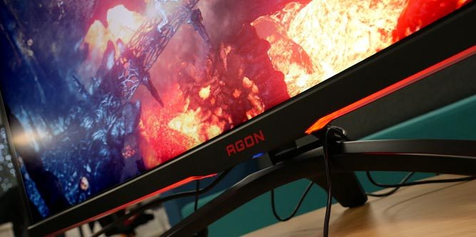 "AOC AGON AG322QC4 32"" Curved Gaming Monitor Review - Nerd Techy"