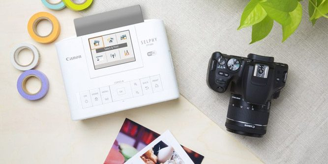 Canon Selphy Cp1300 Wireless Compact Photo Printer Review