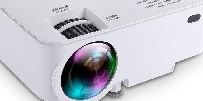 DBPOWER T20 Mini Projector Review - Nerd Techy