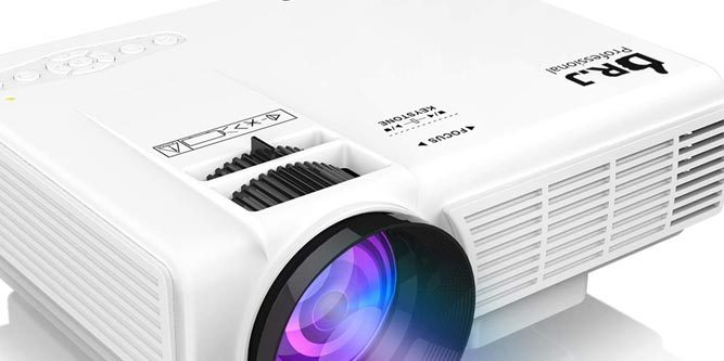 DR  J Professional HI-04 Mini Projector Review - Nerd Techy