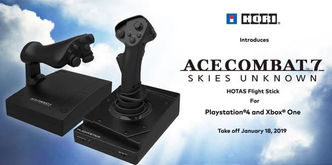 First-Look Review of the HORI Ace Combat 7 HOTAS Flight Stick