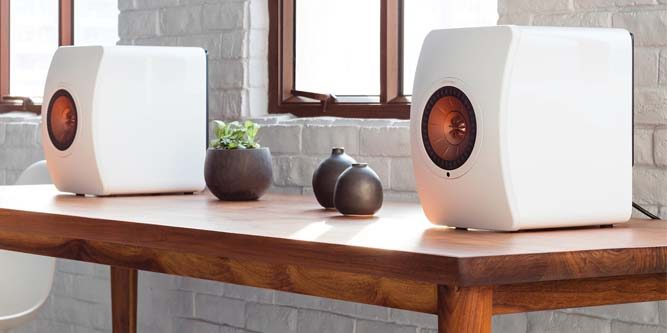kef ls50 wireless speaker system review nerd techy. Black Bedroom Furniture Sets. Home Design Ideas
