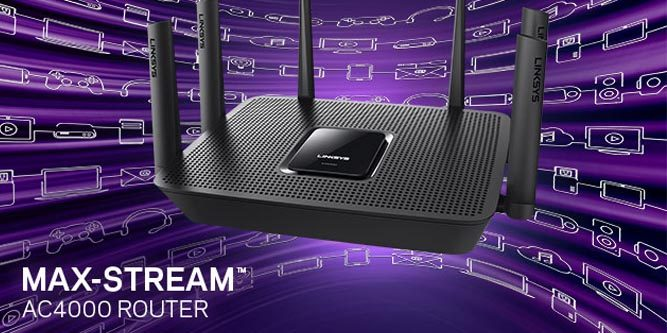 Linksys Max-Stream EA9300 (AC4000) Tri-Band Router Review