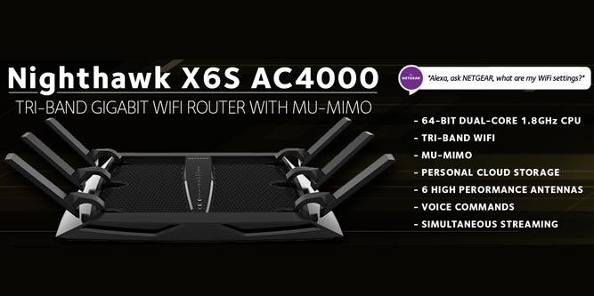 Netgear Nighthawk X6S R8000P (AC4000) Router Review - Nerd Techy
