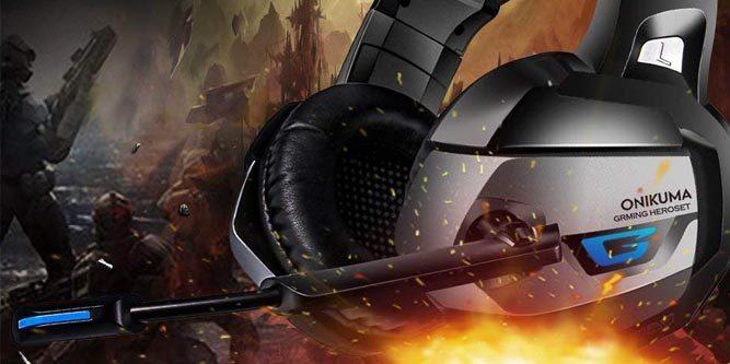 ONIKUMA K5 Stereo Gaming Headset Review - Nerd Techy