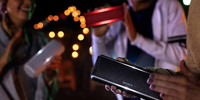 Sony XB21 Portable Extra Bass Bluetooth Speaker With NFC// Lights  SRS-XB21