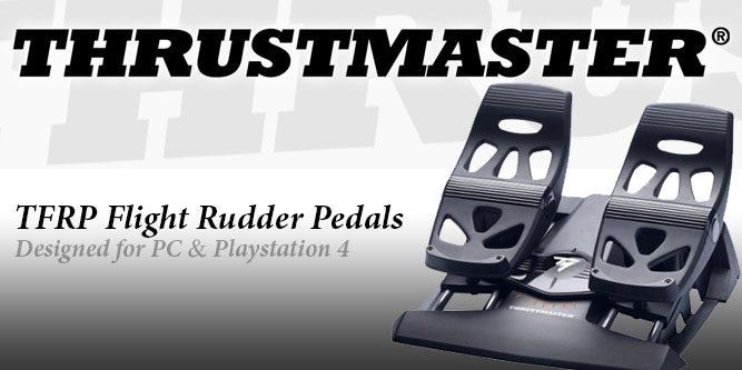 Thrustmaster TFRP Flight Rudder Pedals - Nerd Techy