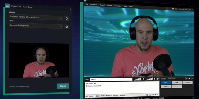 XSplit VCam Webcam Background Removal Software Review - Nerd